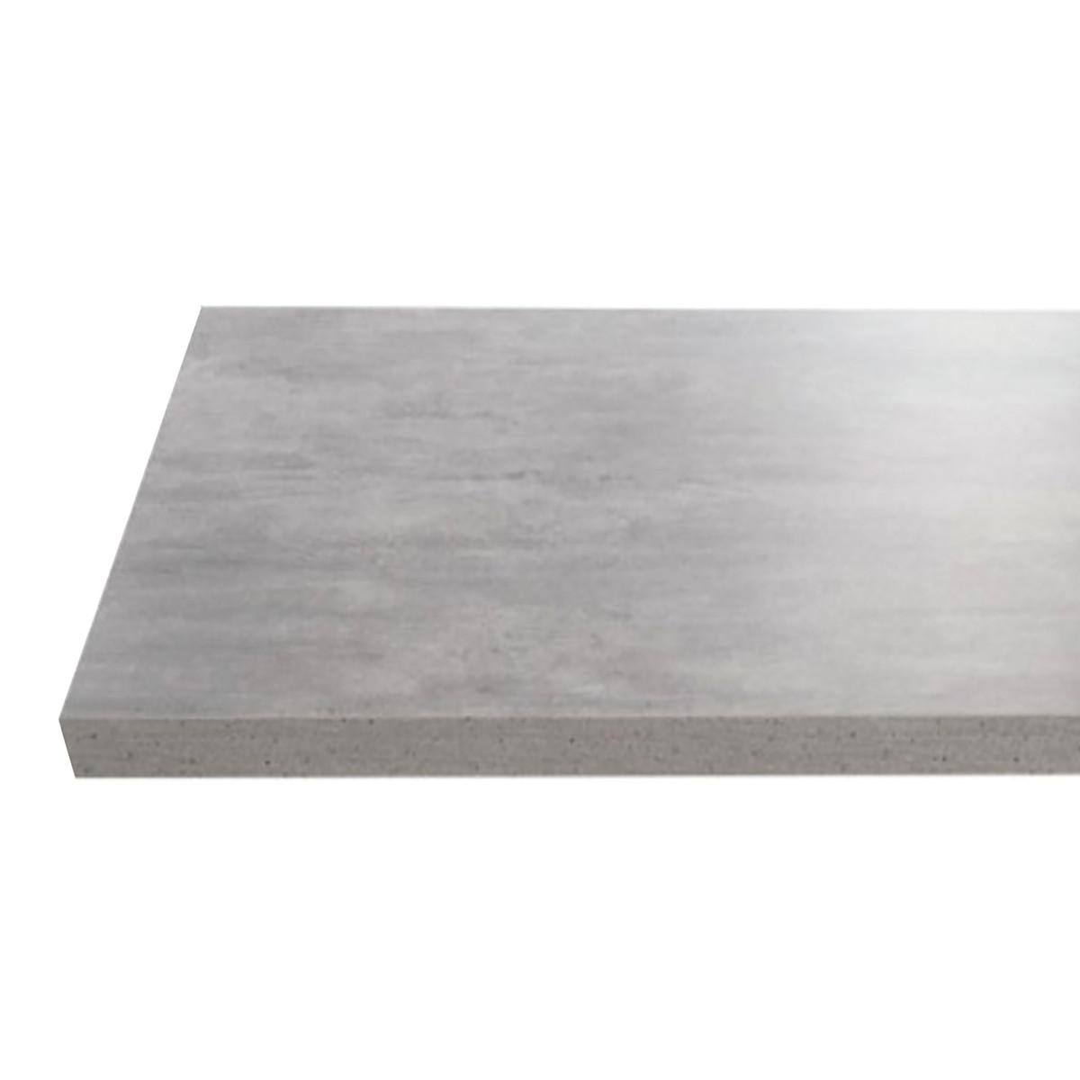 Top per lavabo d'appoggio Remix Rovere Scuro 4 x 50 cm