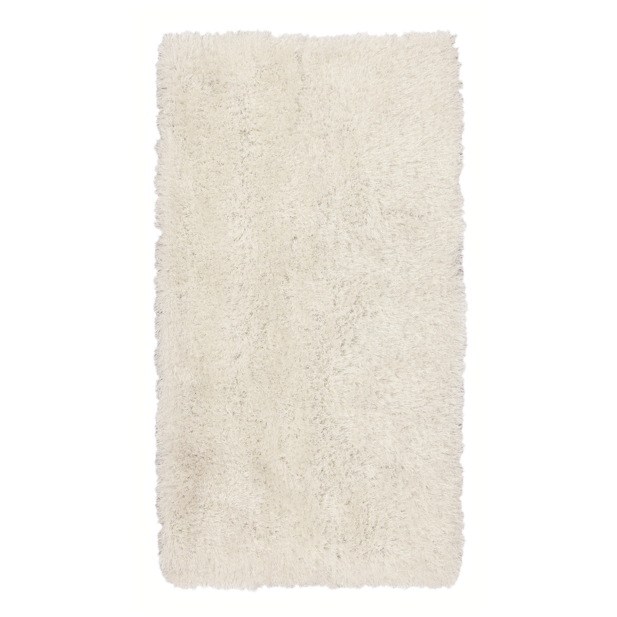 Tappeto shaggy in bianco e nero soggiorno  Prezzo e ...