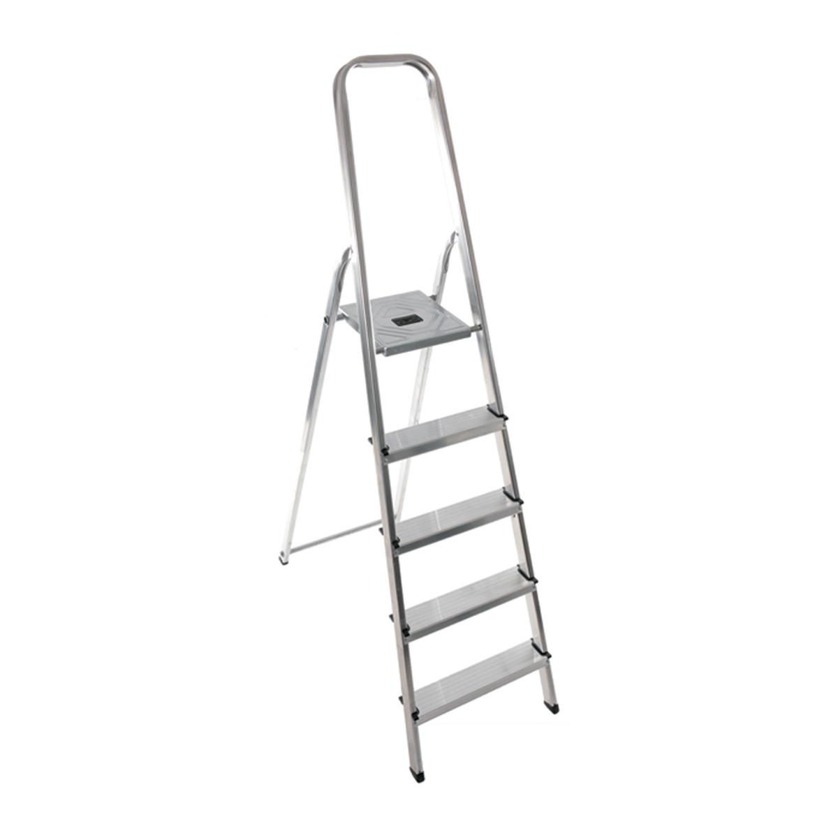 Cifem scala casalinga 6 gradini h pedana 136 prezzo e for Prezzi scale alluminio leroy merlin