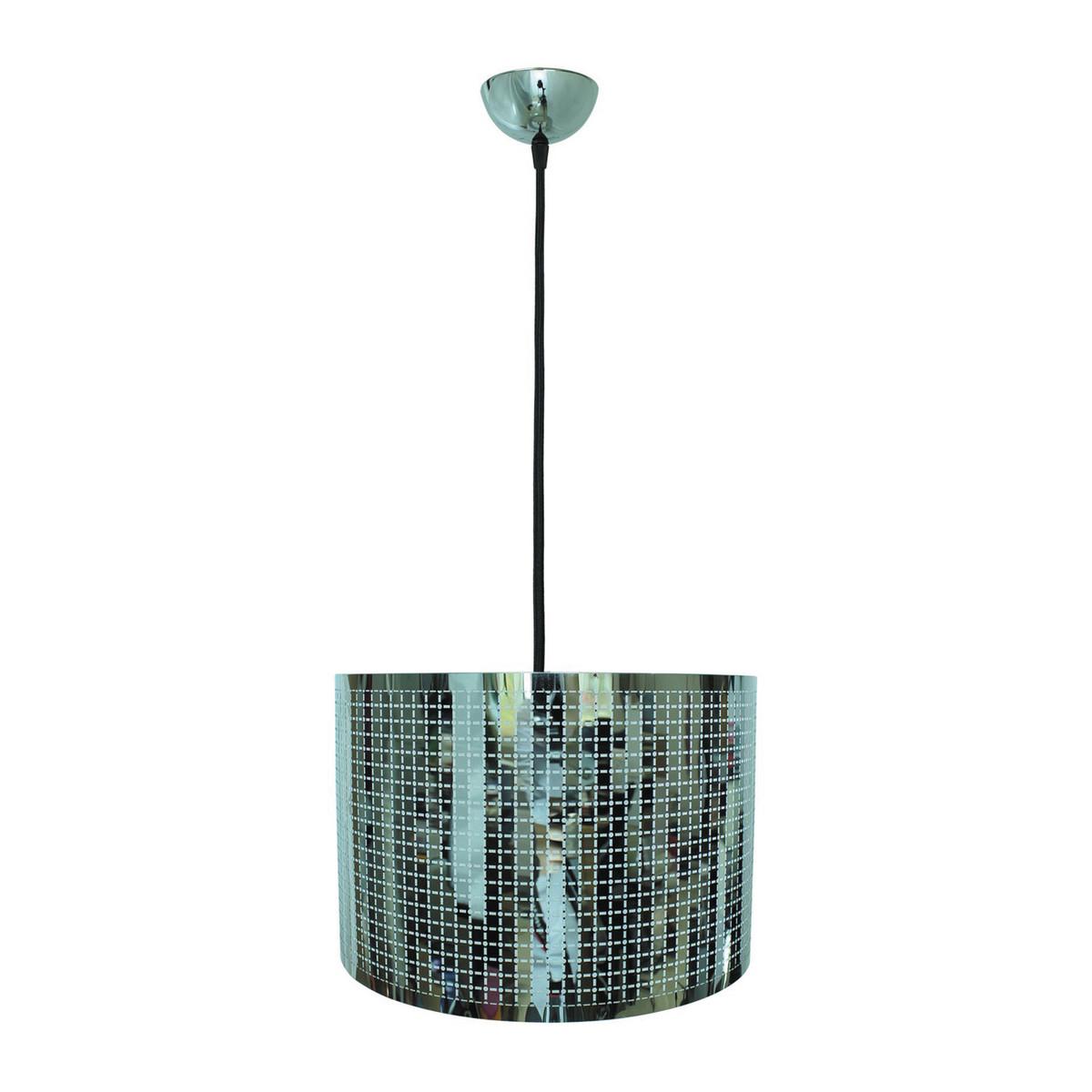 Lampadario moderno acciaio cromo lampada sospensione cucina ...