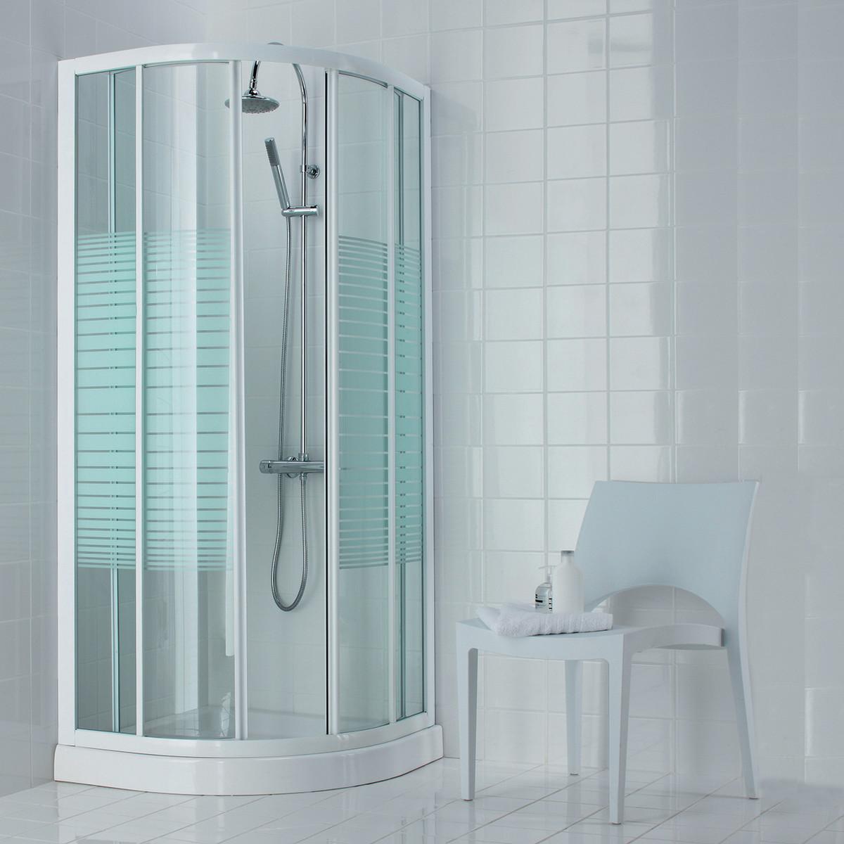 Cabina doccia completa 75 x 140 - Altezza box doccia ...