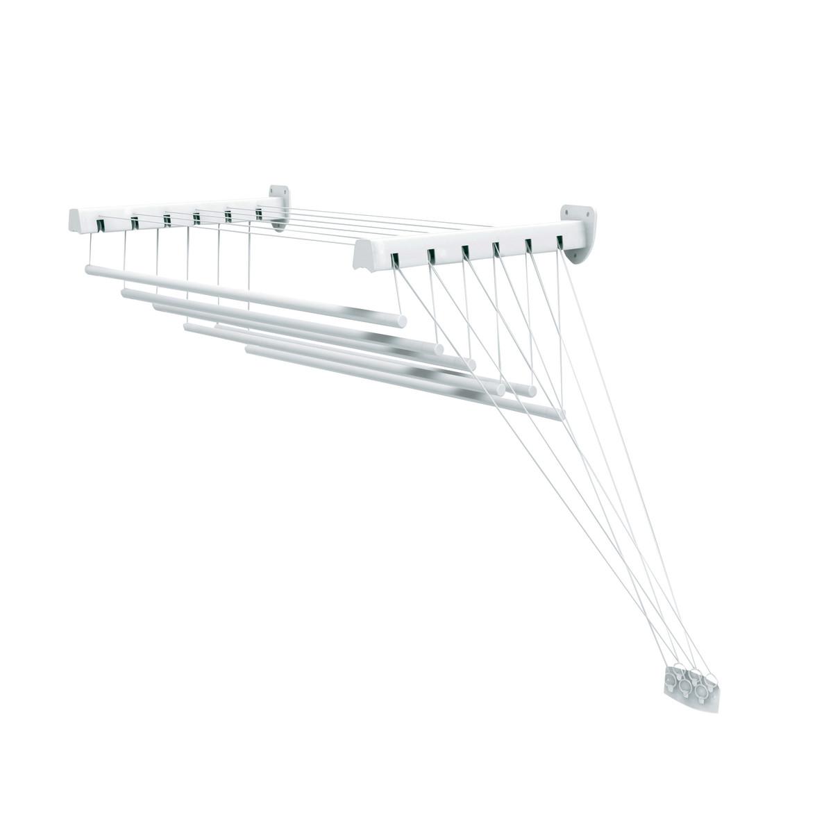 Stendibiancheria elettrico 120 w stendino 8 barre prezzo e offerte sottocosto for Scaldasalviette elettrico leroy merlin
