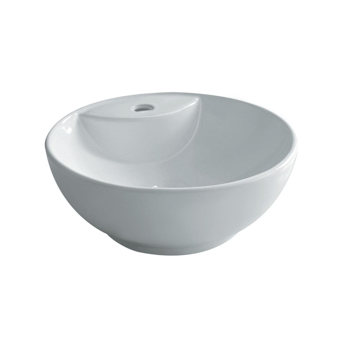Lavabo design stoccolma appoggio ceramica prezzo e - Lavabo bagno leroy merlin ...