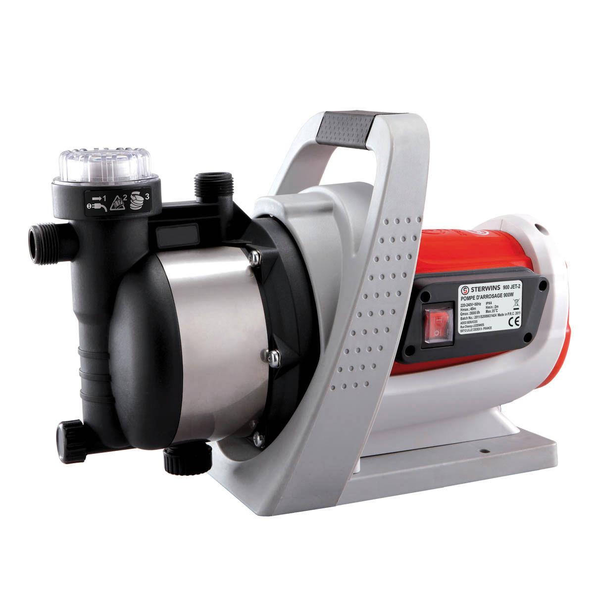 Ribimex pompa di superficie biturbina centrifuga 2000 for Pompa sommersa leroy merlin