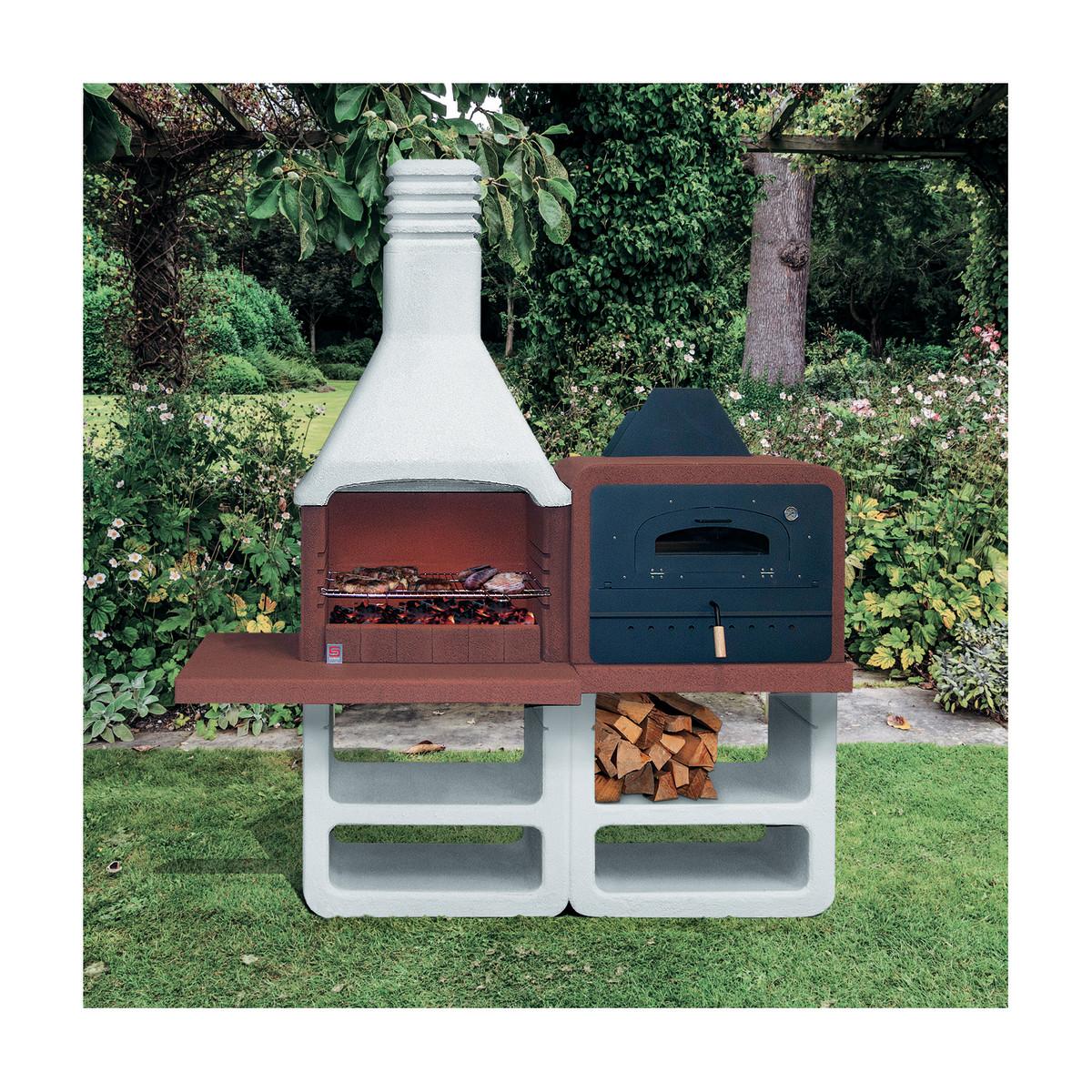 Prezzi barbecue muratura como cappa prezzi e negozi - Camini da esterno in muratura ...