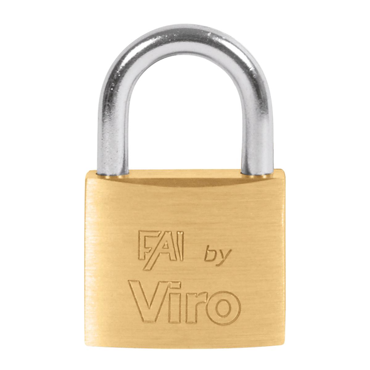 Viro Lucchetto rettangolare a chiave arco standard 30 mm