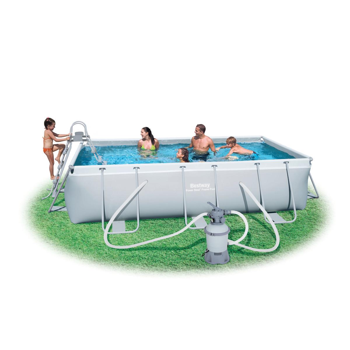 Bestway piscina bestway 549x274x122 56223 prezzi for Arena piscina leroy merlin