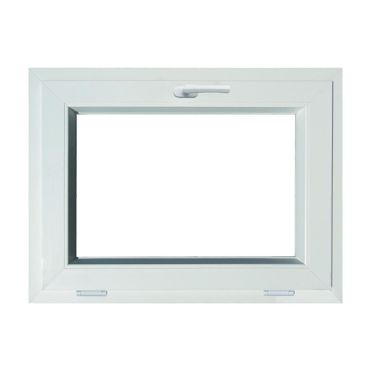 Finestra PVC L 80 x H 60 cm