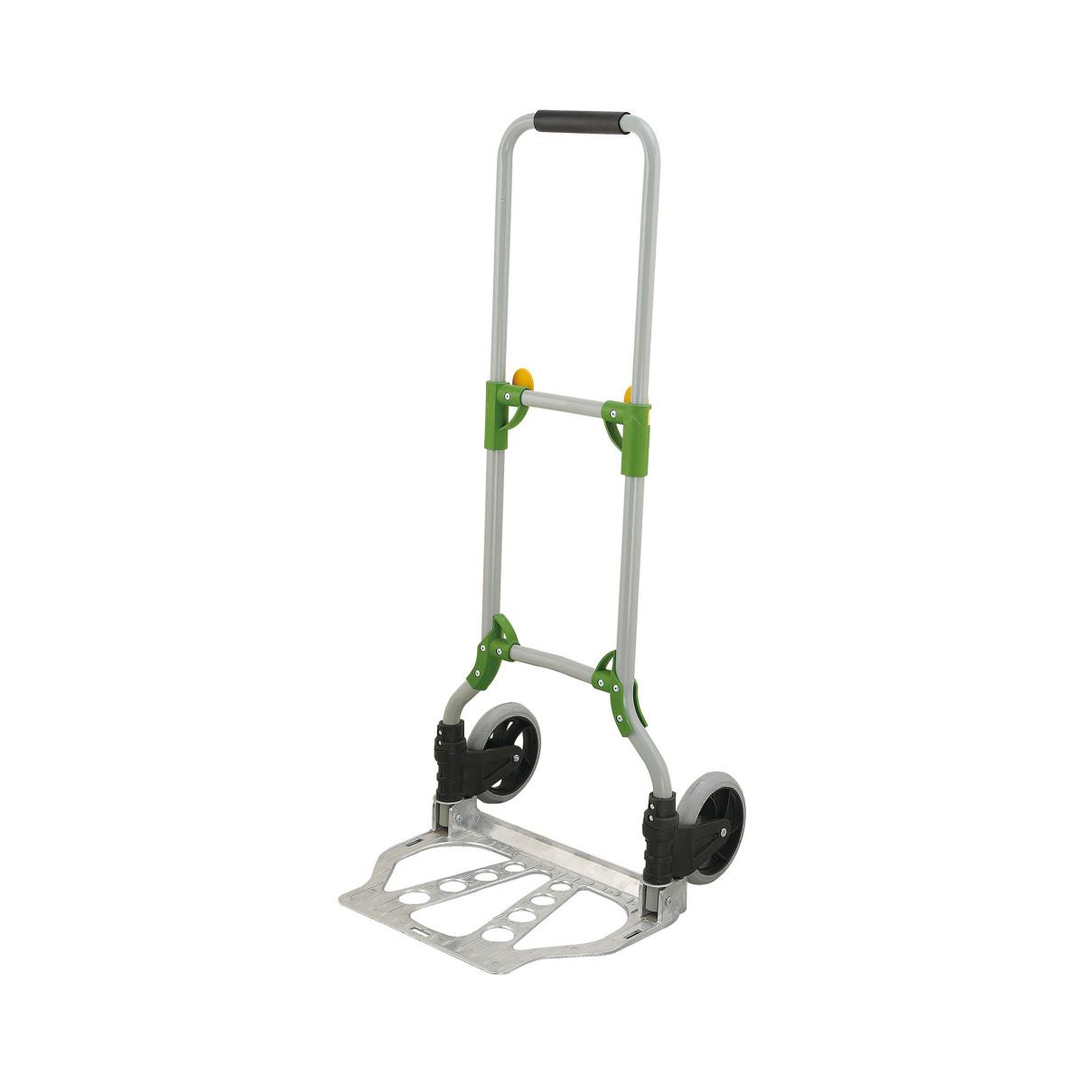 Carrello portapacchi pieghevole acciaio e alluminio mod for Ruote per carrelli leroy merlin