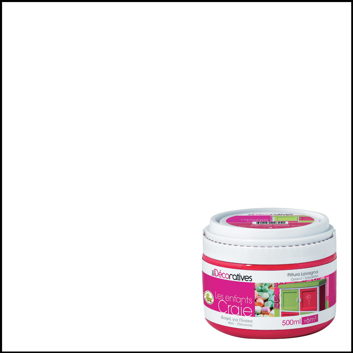 Infactory vernice effetto lavagna paint liquida atossica for Pittura lavagna prezzo