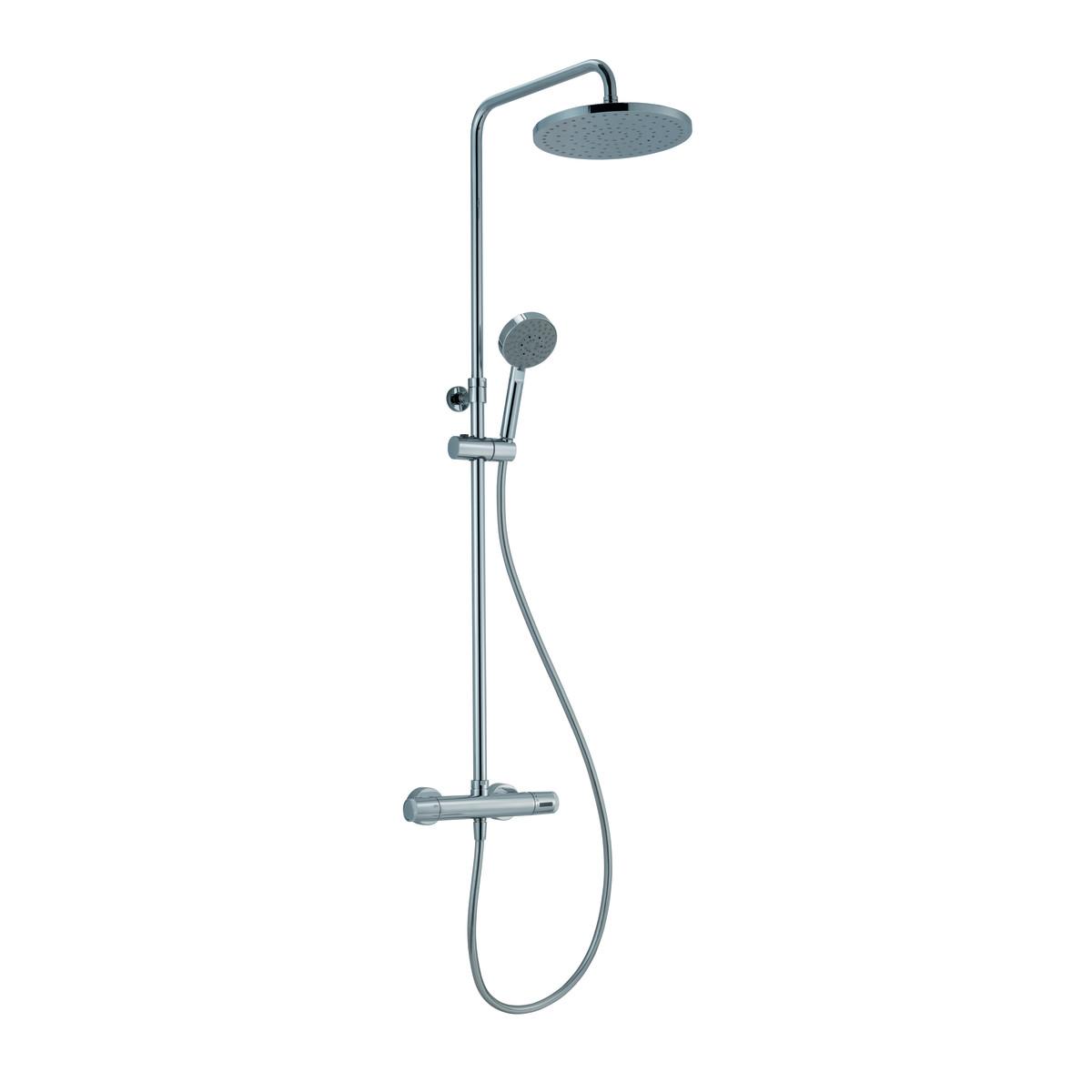 Valvola termostatica doccia al miglior prezzo casa for Colonna idro leroy merlin