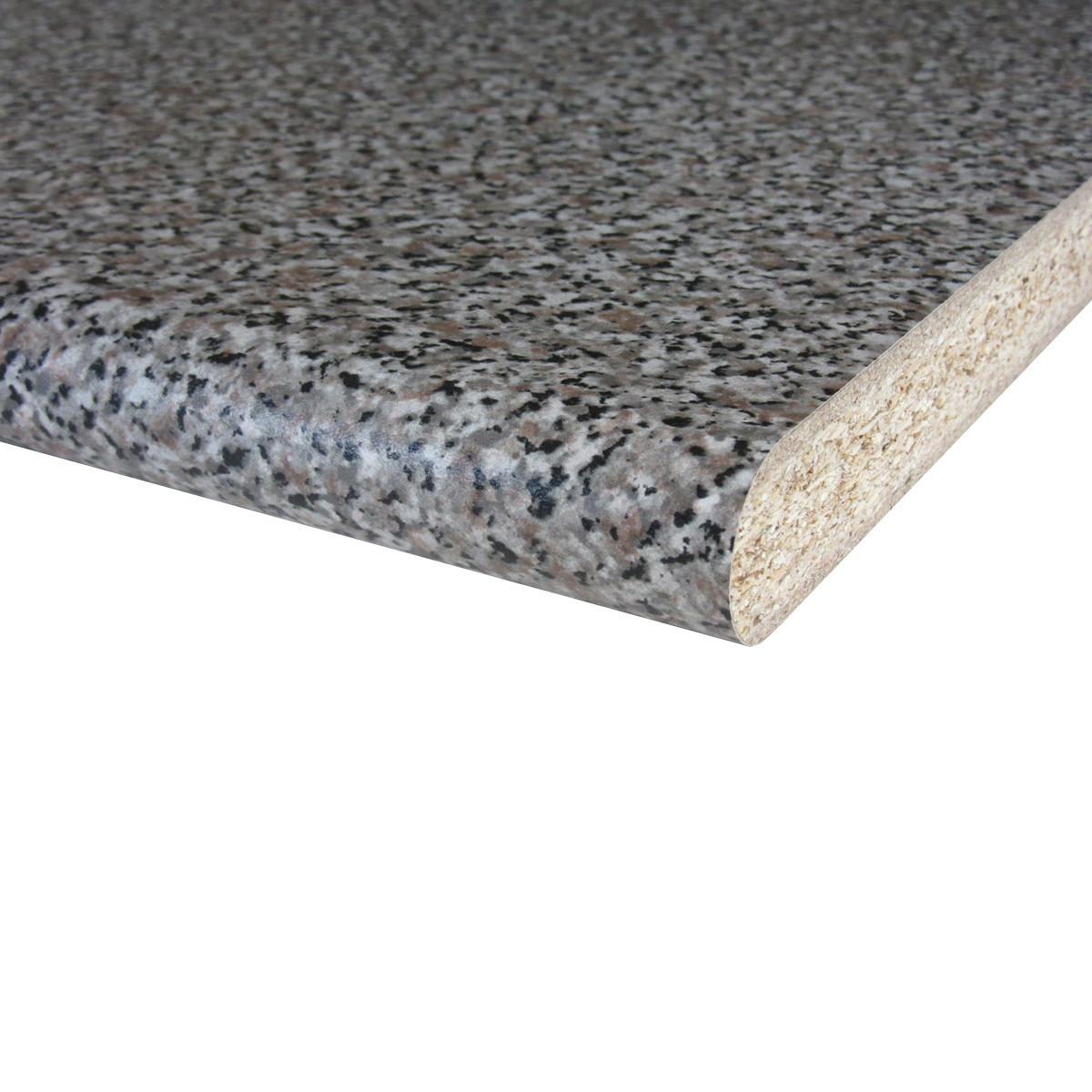Vidaxl lavandino cucina granito grigio lavello doppio prezzo e offerte sottocosto - Piano cucina in granito ...