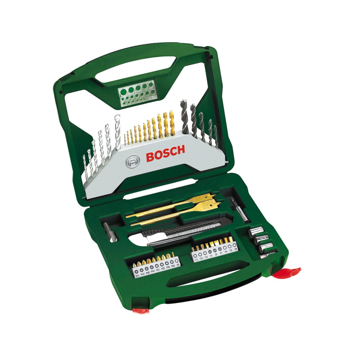 Bosch set di punte elicoidali per legno prezzo e offerte for Prezzo cuccia cane leroy merlin