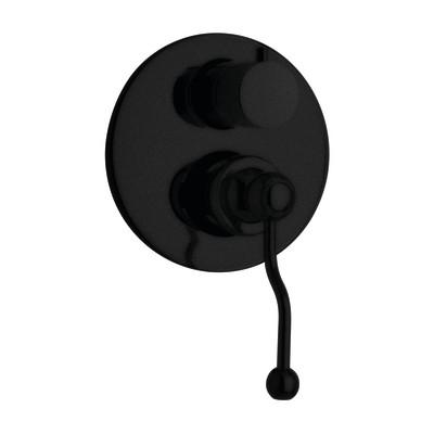 Miscelatore incasso doccia Lingga nero