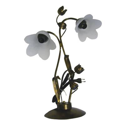 Lampada da tavolo Brunito bronzo