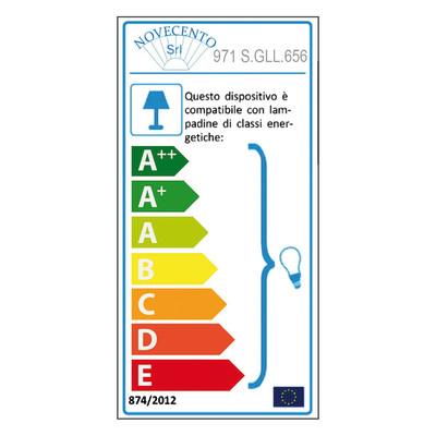 Pendel per lampadario componibile Color E27 (grande) giallo in silicone