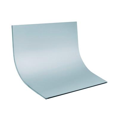 Soffione Cascata 25 x 16 cm acciaio inox cromato lucido