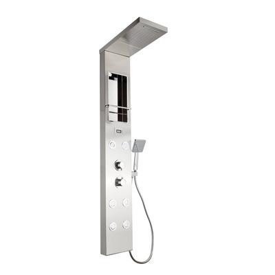 Pannello doccia City plus con miscelatore termostatico