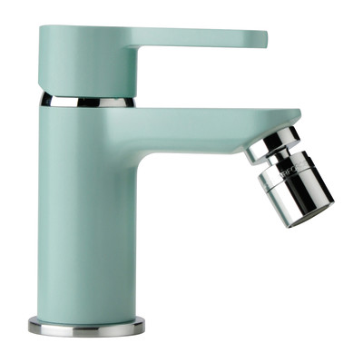 Miscelatore bidet Colors blu atollo