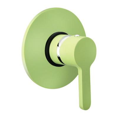 Miscelatore incasso doccia Colors verde
