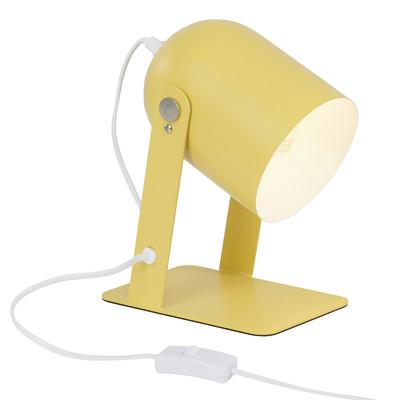 Lampada da tavolo Yan giallo