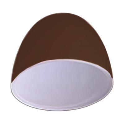 Vetro per lampadario componibile Ester marrone