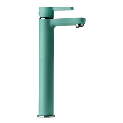 Miscelatore lavabo alto Colors blu atollo
