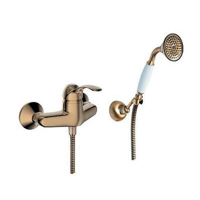 Miscelatore esterno doccia Puna bronzato