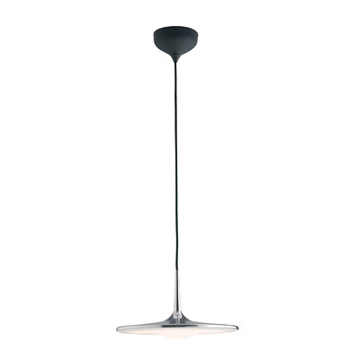 Lampadario Ikon cromo, in metallo, diam. 42.2 cm, LED integrato 36W 2880LM IP20