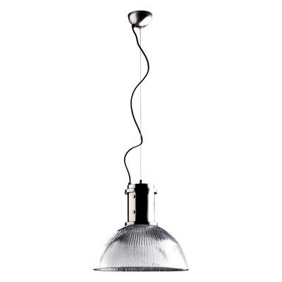 Lampadario Industry trasparente, in vetro, diam. 40 cm, E27 MAX72W IP20