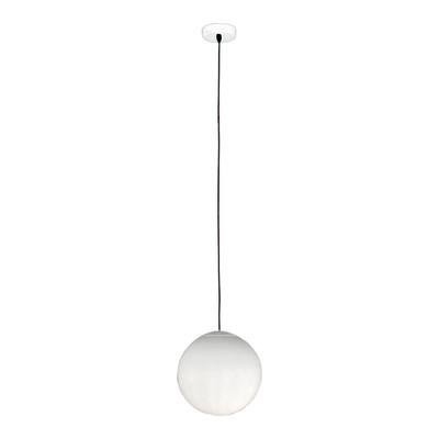 Lampadario Lena bianco, in metallo, diam. 20 cm, E27 MAX42W IP20