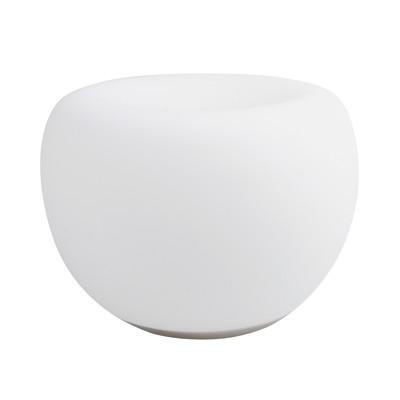 Lampada da tavolo JE621009 bianco, in vetro, LED integrato MAX8,5W IP20 JEDI