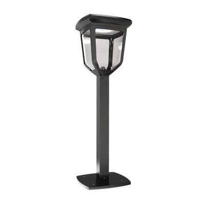 Lampioncino solare Fungo LED integrato, le lampade di questo lampadario non possono essere sostituite H60cm bianco, lilla 0.18W 50LM IP44 XANLITE