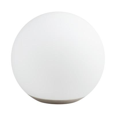 Lampada da tavolo Dahli bianco, in vetro, LED integrato MAX8,5W IP20 TAO