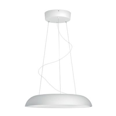 Lampadario Amaze bianco, in plastica, diam. 43.4 cm, LED integrato 39W 3000LM IP20 PHILIPS HUE