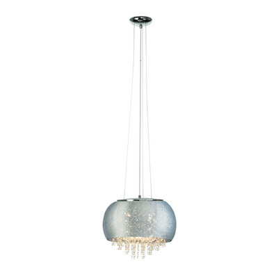 Lampadario Brilliance cromo, in vetro, diam. 40 cm, G9 5xMAX33W IP20 BRILLIANT