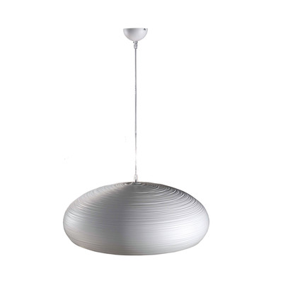 Lampadario Lodge bianco, in metallo, diam. 60 cm, E27 MAX60W IP20