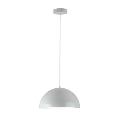 Lampadario Lucia grigio, in metallo, diam. 33.5 cm, LED integrato 18W 1530LM IP20