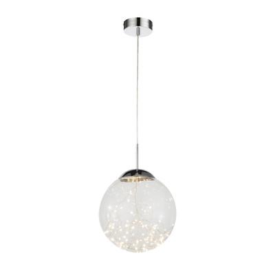 Lampadario Manam trasparente, in vetro, diam. 30 cm, LED integrato 12W 1120LM IP20