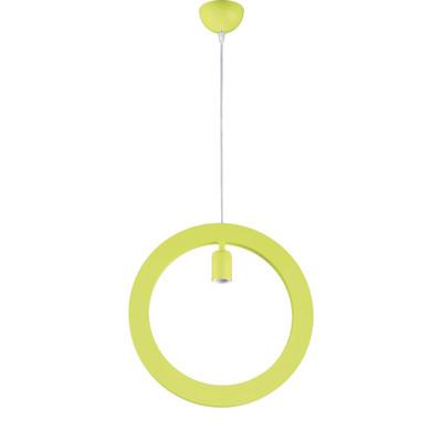 Lampadario Oblo verde, in metallo, diam. 37.5 cm, E27 MAX72W IP20