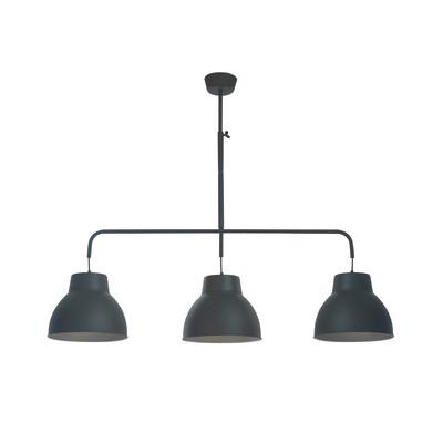 Lampadario Mezzo nero, in metallo, diam. 13 cm, E27 MAX60W IP20 INSPIRE