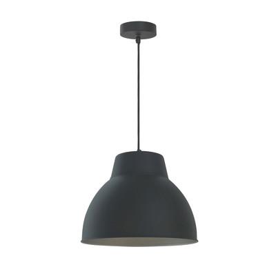 Lampadario Mezzo nero, in metallo, diam. 10 cm, E27 MAX60W IP20 INSPIRE