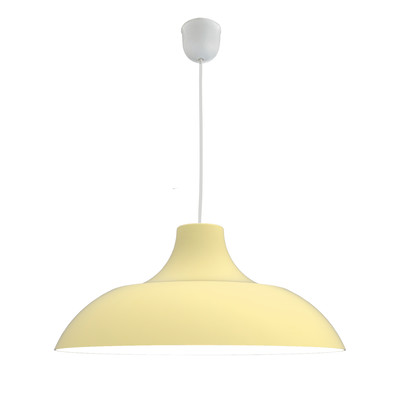Lampadario Parigina giallo, in metallo, diam. 30 cm, E27 MAX53W IP20 LUMICOM