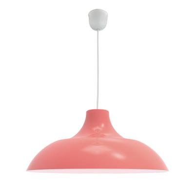Lampadario Parigina rosso, in metallo, diam. 40 cm, E27 MAX53W IP20 LUMICOM