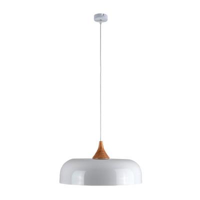 Lampadario Sammy bianco, in metallo, diam. 80 cm, E27 MAX42W IP20