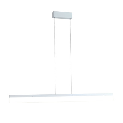 Lampadario Saturn bianco, in acrilico, diam. 120 cm, LED integrato 36W 2810LM IP20