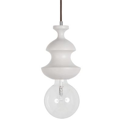 Lampadario Scacchi bianco, in metallo, diam. 15 cm, E27 MAX100W IP20 SFORZIN