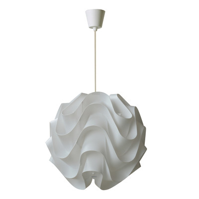 Lampadario Sky bianco, in plastica, diam. 30 cm, E27 MAX60W IP20 INSPIRE