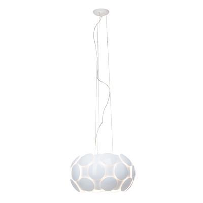 Lampadario Status bianco, in metallo, diam. 50 cm, E27 6xMAX25W IP20 BRILLIANT