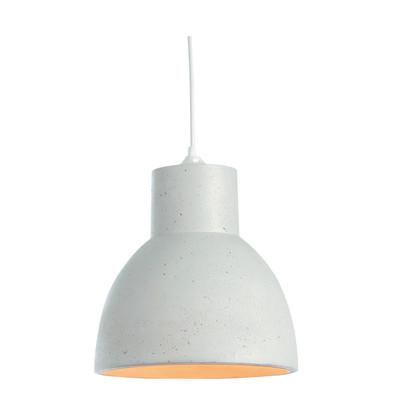 Lampadario Studio  bianco, in metallo, diam. 30 cm, E27 MAX60W IP20 LUSSIOL
